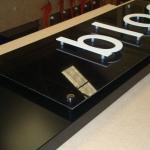 Sign tray (14)